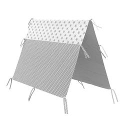 VitaliSpa® Kinderbett Überwurf Kinderbett Indianerzelt für Tipi Bett 80x160cm Zeltbett Zelt 160 cm
