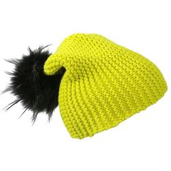 Wintersport Beanie | Myrtle Beach acid-yellow/black