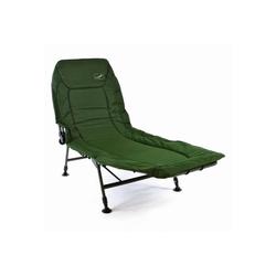 VCM Gartenliege Karpfenliege / Campingliege mit Schlammfüßen