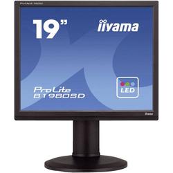 Iiyama B1980SD LED-Monitor 48.3cm (19 Zoll) 1280 x 1024 Pixel SXGA 5 ms DVI, VGA TN LED