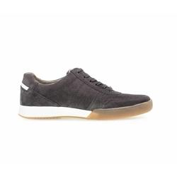 Pius Gabor Sneaker aus Rauleder grau, Gr. 10, Rauleder - Herren Schuh