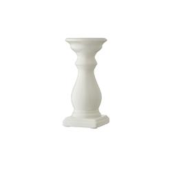 Basispreis* Kerzenhalter ¦ weiß ¦ Porzellan ¦ Maße (cm): H: 20 Ø: [9.5]