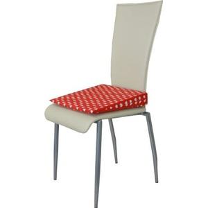 Orthopädisches Keilkissen Sitzkeilkissen Sitzkissen Sitzhilfe Kissen, Rot mit Herzen
