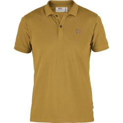 Fjällräven - Övik Polo Shirt M Ochre - Poloshirts - Größe: L