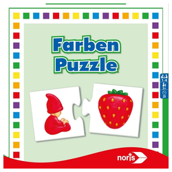 Noris Puzzle Farben ab 3 Jahren, 24 Puzzleteile