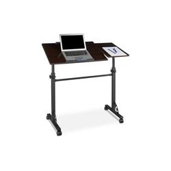 relaxdays Laptoptisch Laptoptisch groß Premium XXL schwarz