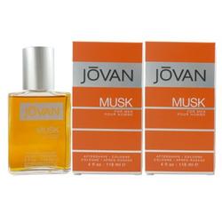 Jovan Musk for Men 2 x 118 ml After Shave Cologne Aftershave