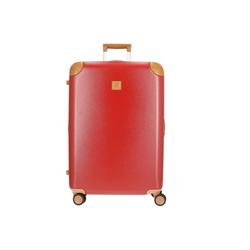 Bric's Trolley Amalfi 4-Rollen-Trolley L 76 cm, 4 Rollen rot
