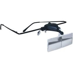 RONA 450515 Lupenbrille mit LED-Beleuchtung Vergrößerungsfaktor: 1.5 x, 2.5 x, 3.5 x