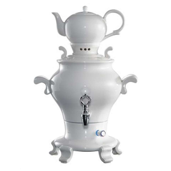 BEEM Samowar Samowar Teekocher Odette Blanc, 5 l, 1800 W