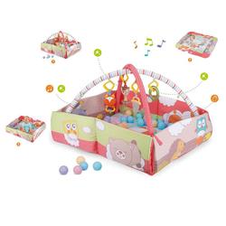 Moni Spielbogen Spielbogen 3 in 1 Ginger 63577, Bällebad, Activity Center