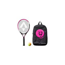 Tecno Pro Tennisschläger Tennisschläger Bash 21, grün rosa