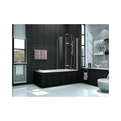 Duschtrennwand DUO 100 x 140 (Badewanne)