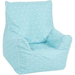 Knorrtoys® Sitzsack Geo cube, neo mint, für Kinder