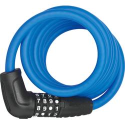 ABUS Spiralschloss 5510C/180/10 blau Fahrradschlösser Fahrradzubehör Fahrräder Zubehör Fahrradschloss