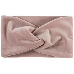 styleBREAKER Stirnband Samt Stirnband mit Twist Knoten rosa