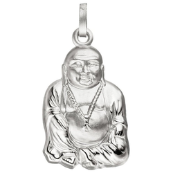 JOBO Kettenanhänger Buddha, 925 Silber