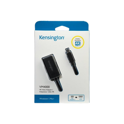 KENSINGTON VM4000 4K Videoadapter Mini DisplayPort auf HDMI Laptop-Kabel
