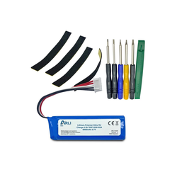ARLI Akku passend für JBL Charge 3 BL GSP1029102A Batterie Li-Polymer 6000 mAh 3,7 V Akku (1 St)
