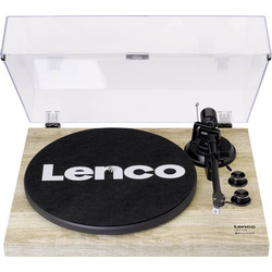 Lenco LBT-188 USB-Plattenspieler Riemenantrieb Kiefer