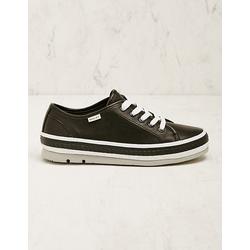 Wolky Damen Leder-Sneaker Minoa schwarz
