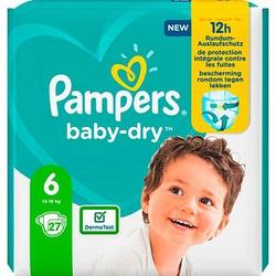 Pampers® Windeln baby-dry™ Größe Gr.6 (13-18 kg) für Kleinkinder