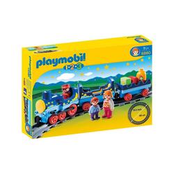 Playmobil® Spielwelt PLAYMOBIL® 6880 - 1•2•3 - Sternchenbahn mit Schienenkreis bunt