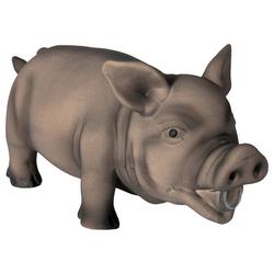 Trixie Schwein, Original-Tierstimme, Latex, Maße: 23 cm
