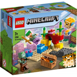 LEGO® Puzzle LEGO® Minecraft 21164 Das Korallenriff, Puzzleteile