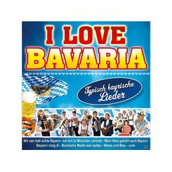 VARIOUS - I Love Bavaria (CD)