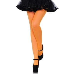 LEG AVENUE 7300 - Nylon opaque pantyhose, Einheitsgröße (Orange)
