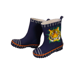 maximo Boys Gummistiefel Tiger navy