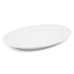 Walküre Porzellan Tortenplatte Platte oval, 26,5cm Buffet Weiß Walküre Porzellan