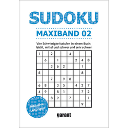 Sudoku Maxi Band 2: Buch von