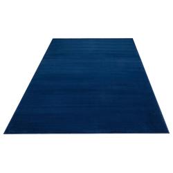 Teppich Paddy, my home, rechteckig, Höhe 7 mm, Uni Teppich blau 120 cm x 170 cm x 7 mm