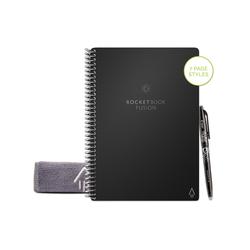 Rocketbook Everlast Notizbuch RocketBook - Fusion, Smartes, digitales Notizbuch mit App-Anbindung