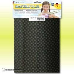 Oracover 425-071-B Klebefolie Orastick (L x B) 300mm x 208mm Carbon
