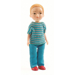 DJECO Puppenhaus - Alice Puppenhausmöbel bunt