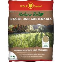 WOLF-Garten Natura Bio  Rasen- und Gartenkalk 10 kg