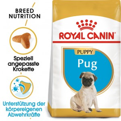 Royal Canin Puppy Mops Hundefutter 2x 1,5kg