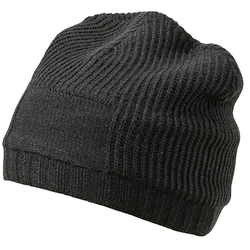 Beanie im Ripp-Design | Myrtle Beach black