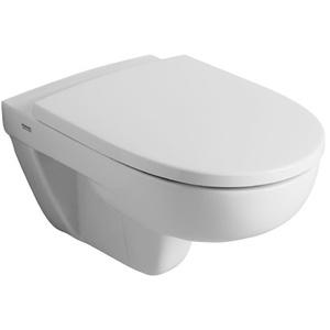 Keramag / Geberit Vivano WC-Sitz mit abnehmbaren Edelstahlscharnieren - Pergamon - 574920068