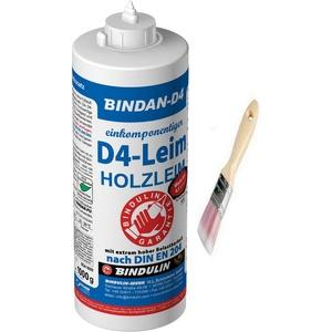 Bindan-D4 Holzleim Kunstharzleim (1-Komponenten-D4-Leim) inkl. 1 Pinsel von E-Com24 (1000 Gramm)