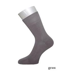 ichwillgartenmoebel.de 6 Paar Socken - weiche & verstärkte Strümpfe aus Bambus 42 - 46 grau