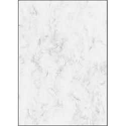 SIGEL Motivpapier Marmor grau DIN A4 90 g/qm 25 Blatt