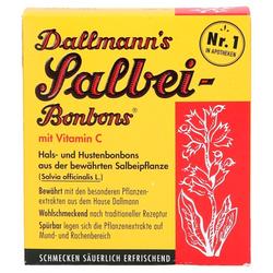 DALLMANN'S Salbei Bonbons m.Vit.C. 20 St