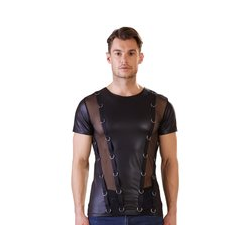 Shirt im Mattlook/Powernet und Ringen