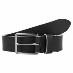 bugatti Gürtel Leder black 110 cm