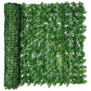 Künstliche Efeu Garten Sichtschutz, Künstliche Hecke Hängepflanzen Grün Blätter Reben Künstliche Efeu Pflanzenwand künstliche Hecken Zaun für Haus Zimmer Garten Hochzeit Girlande Außerhalb Dekoration