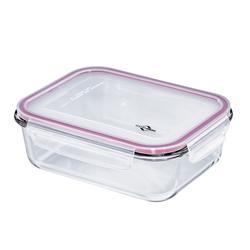 KÜCHENPROFI Lunchbox Vorratsdose groß 23 cm Glas mit Silikondeckel
